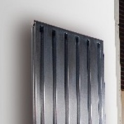Brushed Stainless Steel Radiators